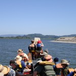 Traveling on the lower Columbia